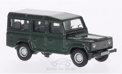 Land Rover Defender 1/76 Oxford verte miniature