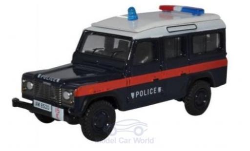 Land Rover Defender 1/76 Oxford LWB Station Wagon Hong Kong Police miniature