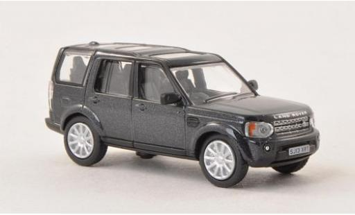 Land Rover Discovery 1/76 Oxford 4 metallise grise miniature