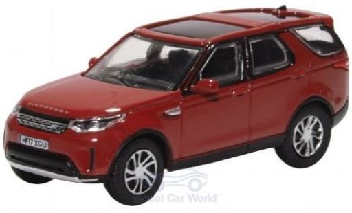 Land Rover Discovery 1/76 Oxford 5 rouge miniature