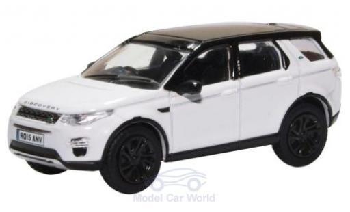 Land Rover Discovery 1/76 Oxford Sport weiss/schwarz modellautos