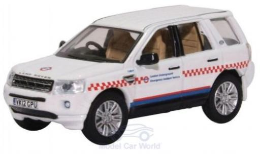 Land Rover Freelander 1/76 Oxford London Underground Emergency Accident Vehicle miniature