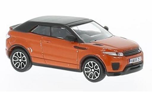 Land Rover Range Rover 1/76 Oxford Evoque Convertible orange RHD miniature