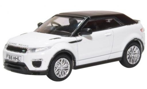 Land Rover Range Rover 1/76 Oxford Evoque Convertible white RHD diecast model cars
