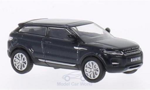 Land Rover Range Rover 1/76 Oxford Evoque metallise bleue RHD 3-Türer miniature