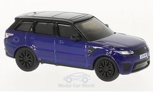 Land Rover Range Rover 1/76 Oxford Sport SVR bleue/noire miniature