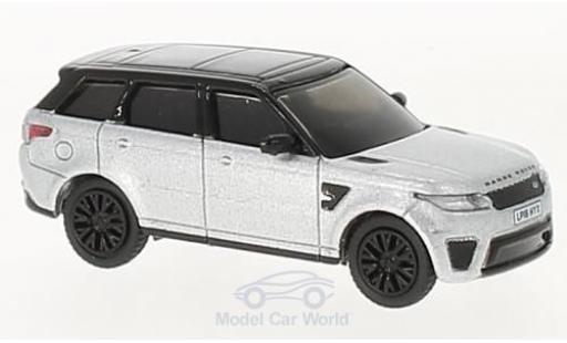Land Rover Range Rover 1/76 Oxford Sport SVR metallise grise/noire miniature