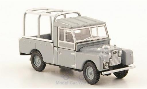 Land Rover Series 1 1/76 Oxford 109 grise miniature