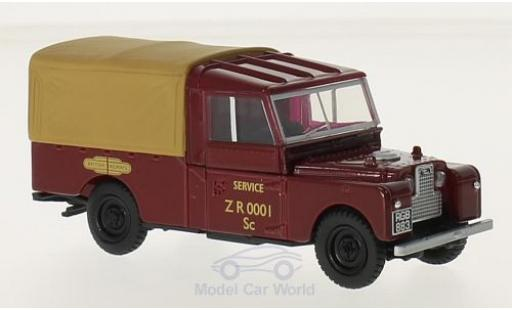 Land Rover Series 1 1/43 Oxford 109 RHD British Railways miniature