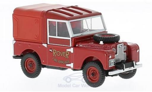 Land Rover Series 1 1/43 Oxford 88 RHD Rover Fire Brigade Hard Top miniature