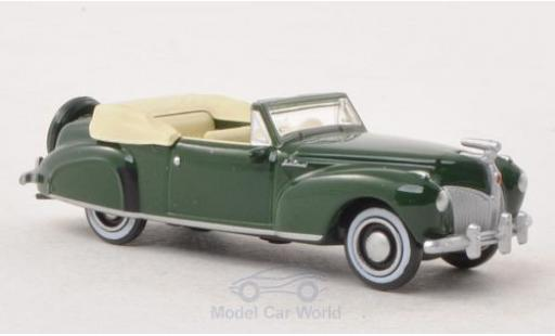Lincoln Continental 1/87 Oxford verte 1941 ohne Vitrine miniature