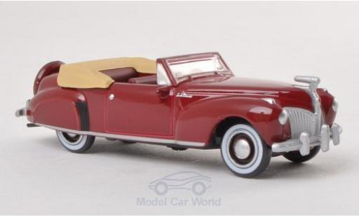 Lincoln Continental 1/87 Oxford dunkelrouge 1941 miniature