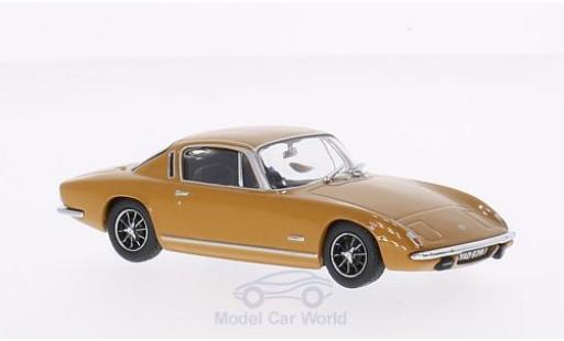Lotus Elan 1/43 Oxford Plus 2 jaune RHD miniature