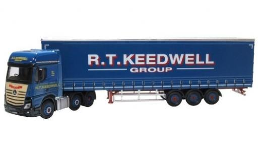 Mercedes Actros 1/76 Oxford RHD R.T. Keedwell Group bache de camion-SZ diecast model cars