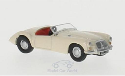 MG A 1/76 Oxford beige RHD miniature