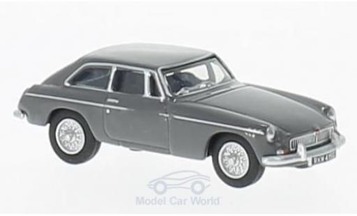 MG B 1/76 Oxford GT grise miniature
