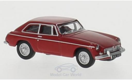 MG B 1/76 Oxford GT rouge RHD miniature
