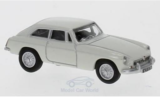 MG B 1/76 Oxford GT blanche miniature