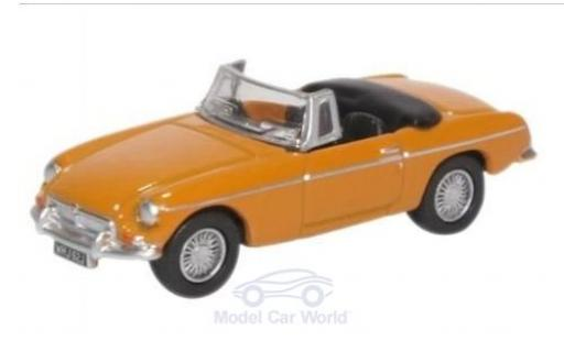 MG B 1/76 Oxford Roadster jaune miniature