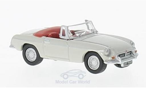 MG B 1/76 Oxford Roadster grise RHD miniature