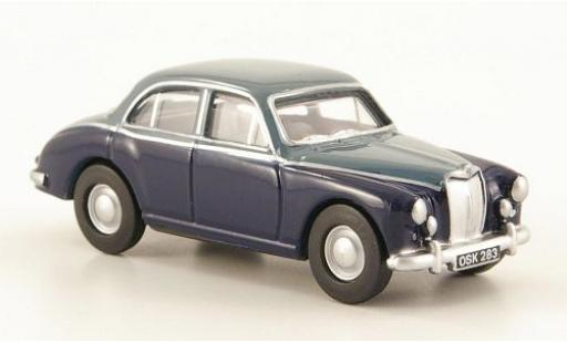 MG ZB 1/76 Oxford bleue/grise miniature