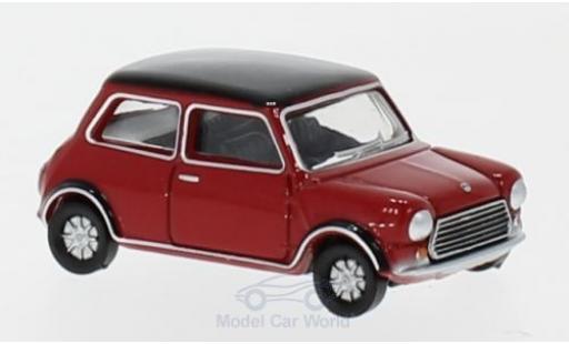 Mini Cooper S 1/76 Oxford MKII rouge/noire miniature