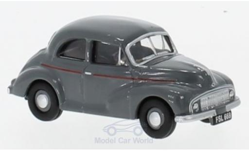 Morris Minor 1/76 Oxford Saloon grise miniature