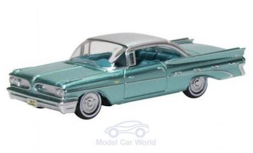 Pontiac Bonneville 1/87 Oxford Coupe verte 1959 miniature
