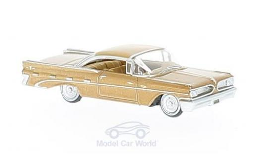Pontiac Bonneville 1/87 Oxford Coupe metallise marron 1959 miniature