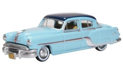 Pontiac Chieftain 1/87 Oxford bleue/bleue 1954 miniature