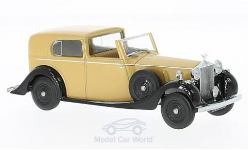 Rolls Royce Phantom 1/43 Oxford III Sedanca de Ville Mulliner hellmarron/noire RHD miniature