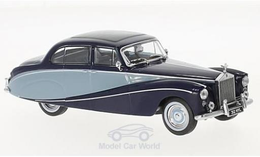 Rolls Royce Silver Cloud 1/43 Oxford Hooper Empress hellbleue/dunkelbleue RHD miniature