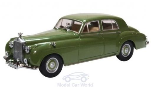 Rolls Royce Silver Cloud 1/43 Oxford I verte RHD miniature
