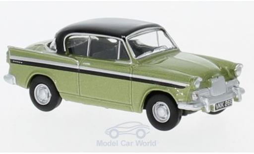 Sunbeam Rapier 1/76 Oxford MkIII metallise verte/noire miniature