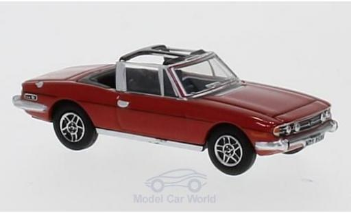 Triumph Stag 1/76 Oxford rouge miniature