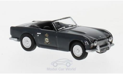 Triumph TR4 1/76 Oxford 103MU - RAF Akrougeiri Cyprus miniature