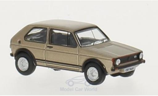 Volkswagen Golf V 1/76 Oxford I GTI metallise beige RHD diecast model cars