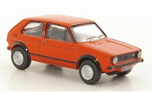 Volkswagen Golf 1/76 Oxford I GTI red diecast model cars