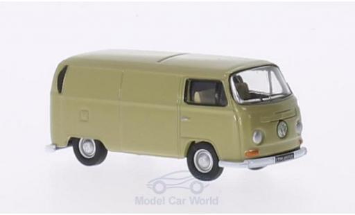 Volkswagen T2 B 1/76 Oxford Kasten dunkelbeige RHD miniature