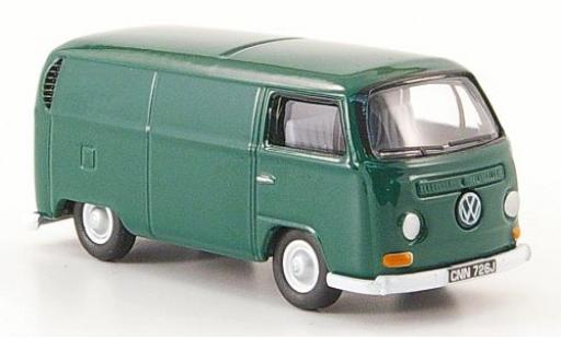 Volkswagen T2 1/76 Oxford Kasten green diecast model cars