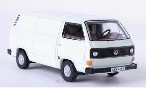 Volkswagen T3 A 1/76 Oxford Kasten hellgrise miniature
