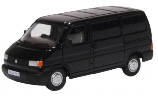 Volkswagen T4 1/76 Oxford Van black diecast model cars