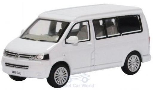 Volkswagen T5 1/76 Oxford California Camper white diecast