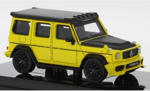 Mercedes Classe G 1/64 Para64 AMG G 63 Liberty Walk yellow/matt-black 2018 diecast model cars