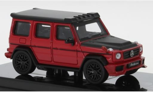 Mercedes Classe G 1/64 Para64 AMG G 63 Liberty Walk red/matt-black 2018 diecast model cars