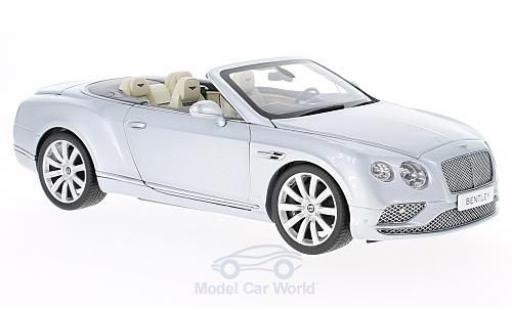Bentley Continental T 1/18 Paragon GT Convertible grise 2016 miniature