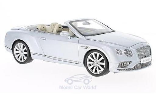 Bentley Continental T 1/18 Paragon GT Convertible grise RHD 2016 miniature