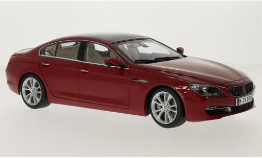 Bmw 650 1/18 Paragon i Gran Coupe (F06) rouge miniature