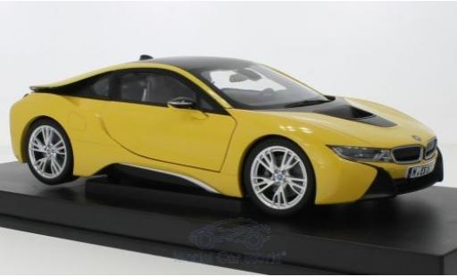 Bmw i8 1/18 Paragon jaune miniature