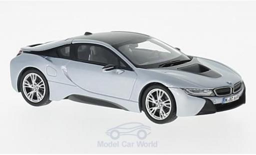 Bmw i8 1/43 Paragon grey/grey diecast model cars